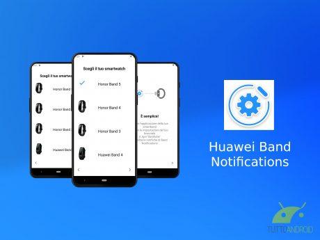 Huawei Band Notifications