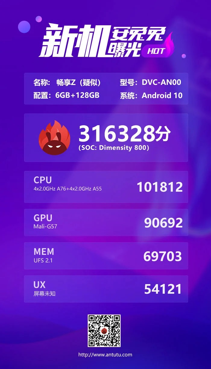 Huawei Enjoy Z AnTuTu