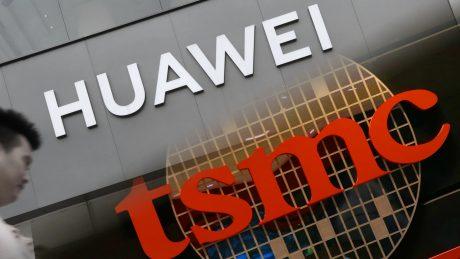 Huawei TSMC Logo