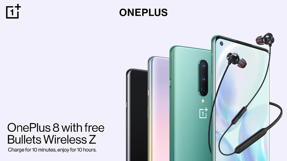 OnePlus 8 Bundle Bullets Wireless Z