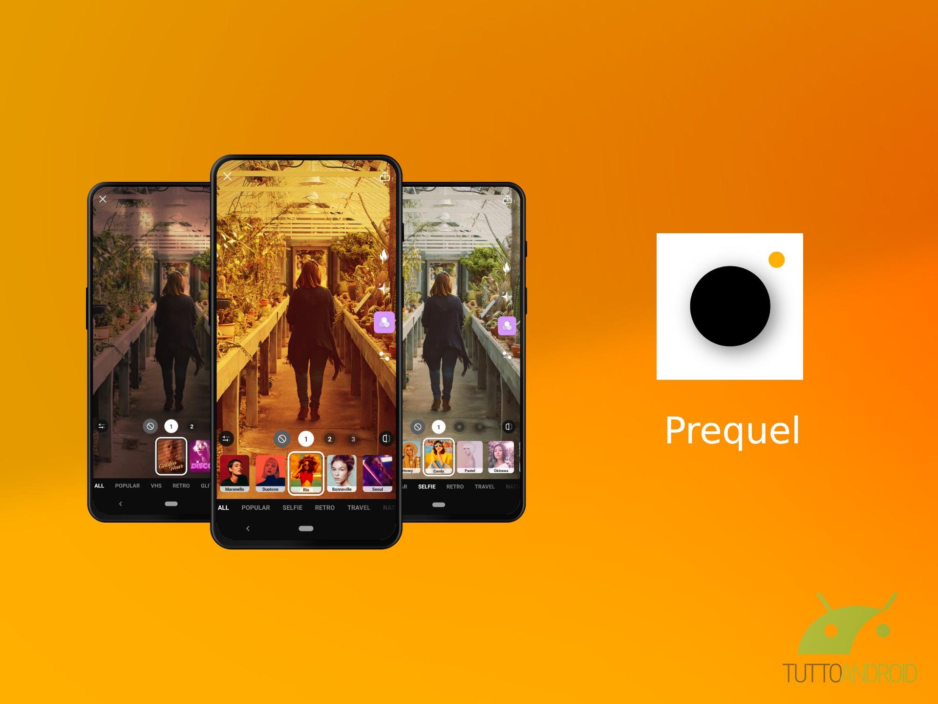 L'app Prequel permette di personalizzare le vostre storie co