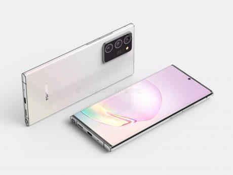 Samsung Galaxy Note 20+ render