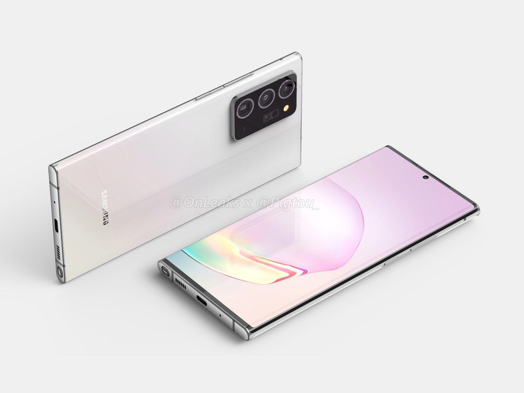 Samsung Galaxy Note 20 potrebbe arrivare prima del previsto