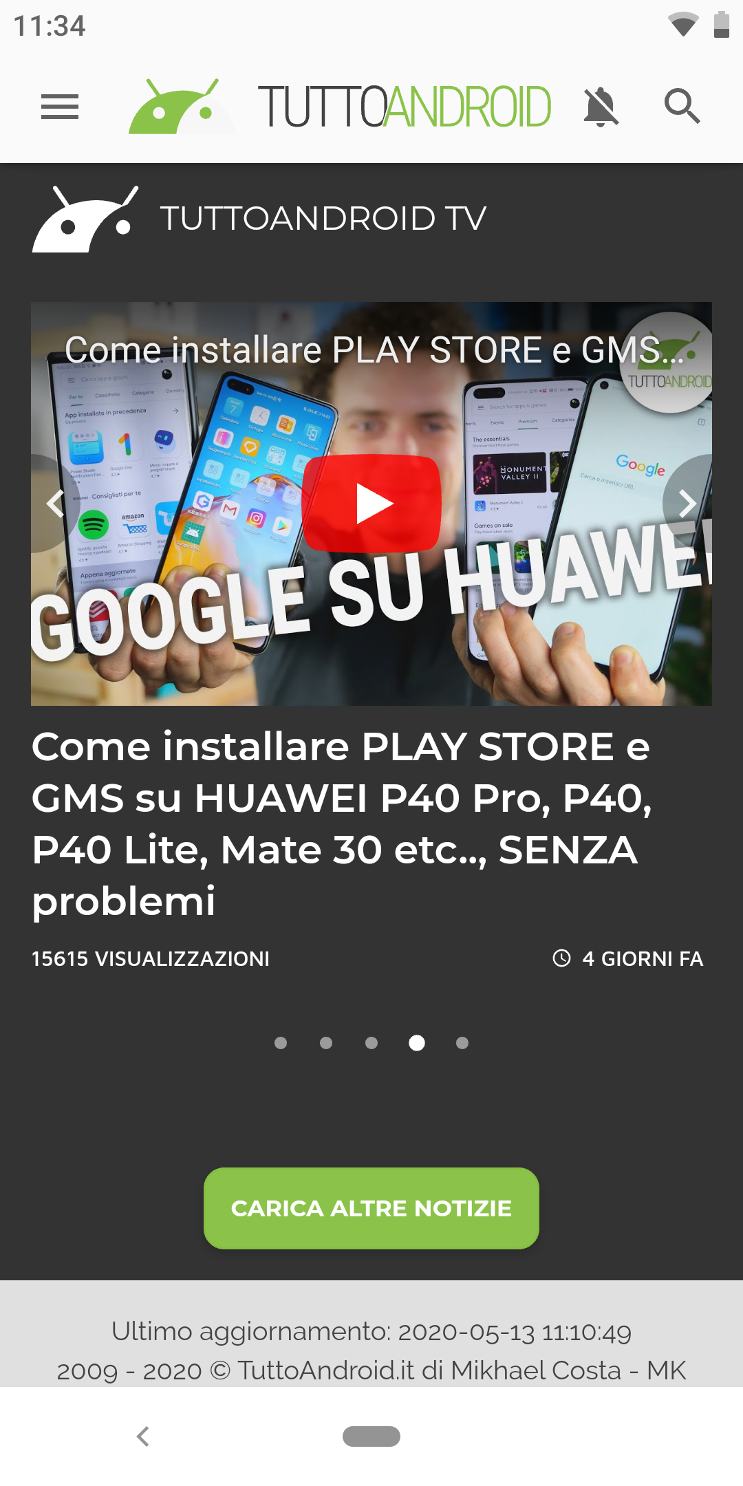 Samsung Internet beta 12