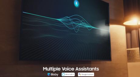 Samsung Smart TV Bixby Google Assistant Alexa