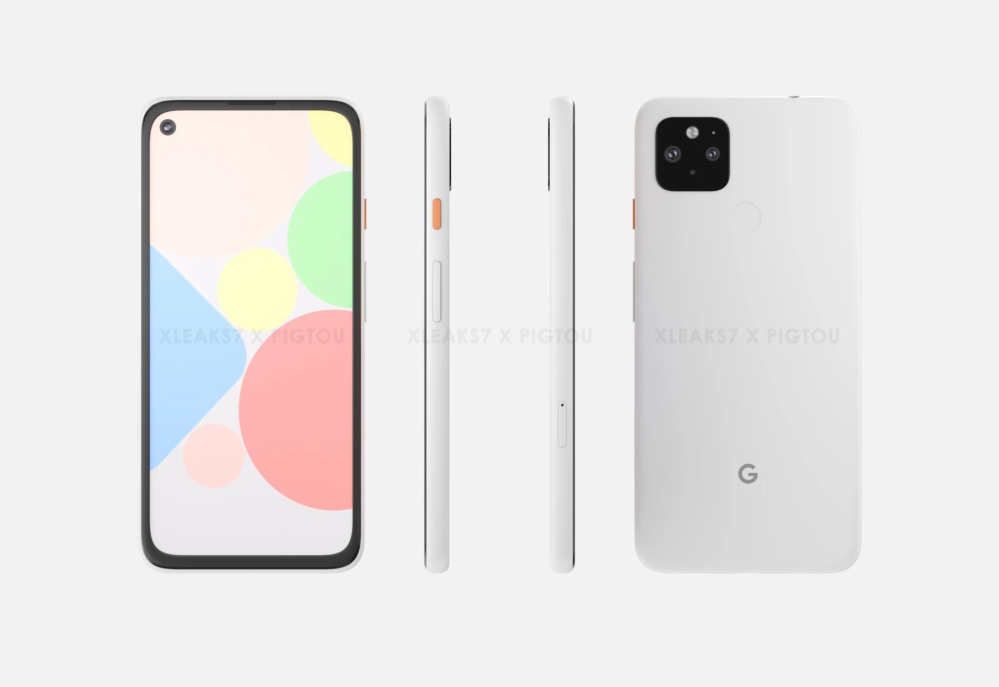 Tanti render ci svelano il Google Pixel 4a XL che quasi sicu