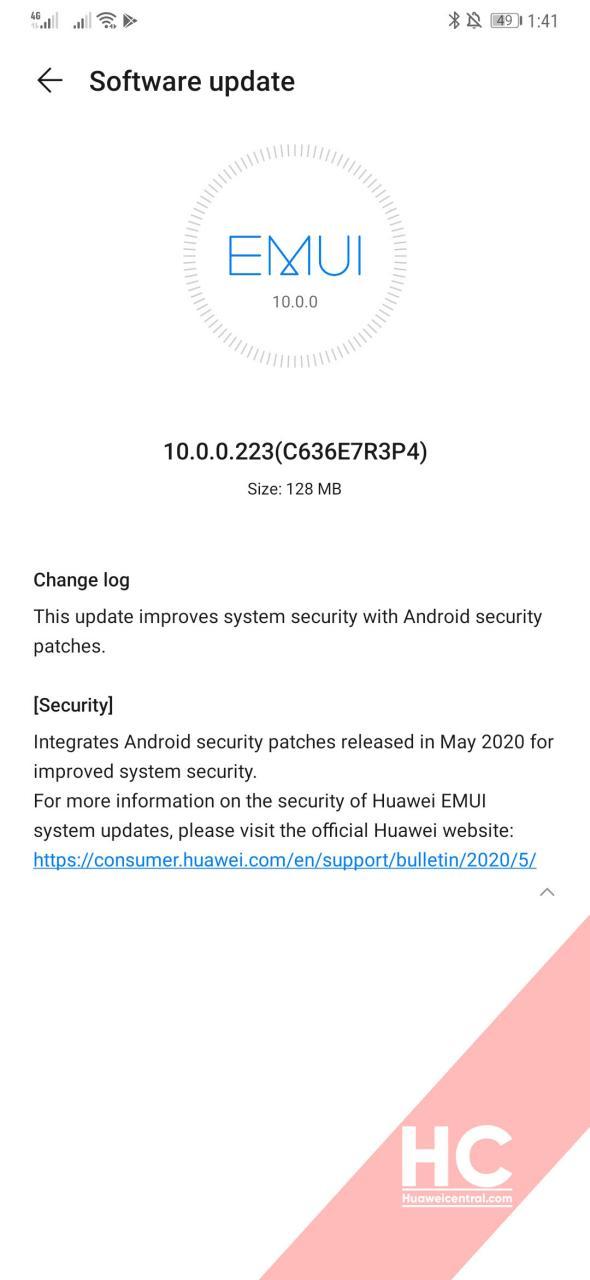 huawei mate 20 pro aggiornamento maggio