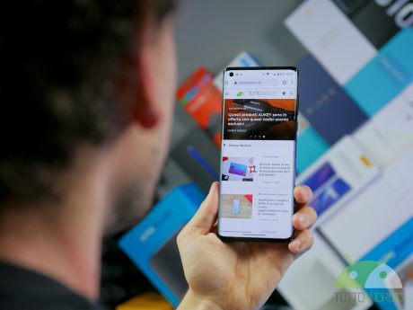 Motorola edge chrome uso