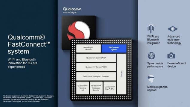 qualcomm fastconnect 6900 6700 specifiche