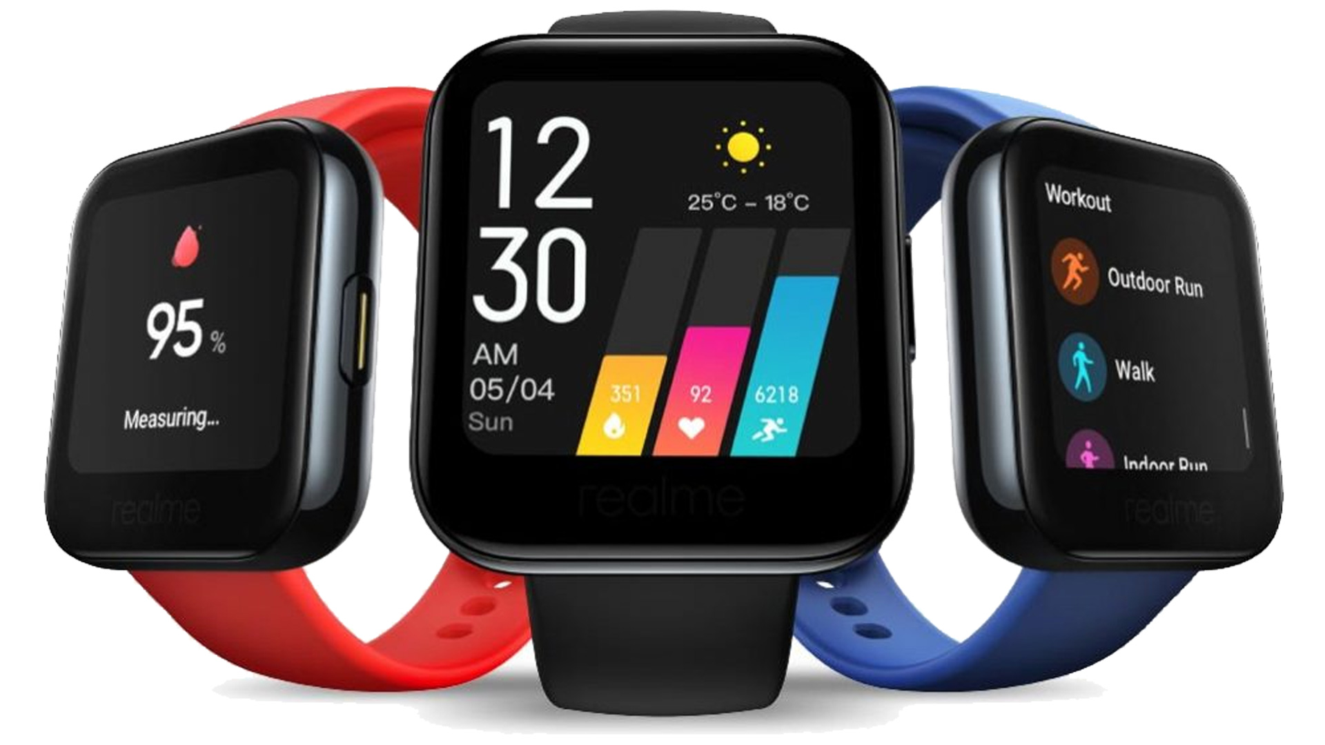Realme Watch svelato assieme alle cuffie true wireless Buds