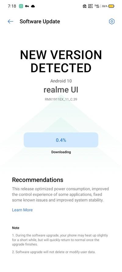 realme android 10 realme ui
