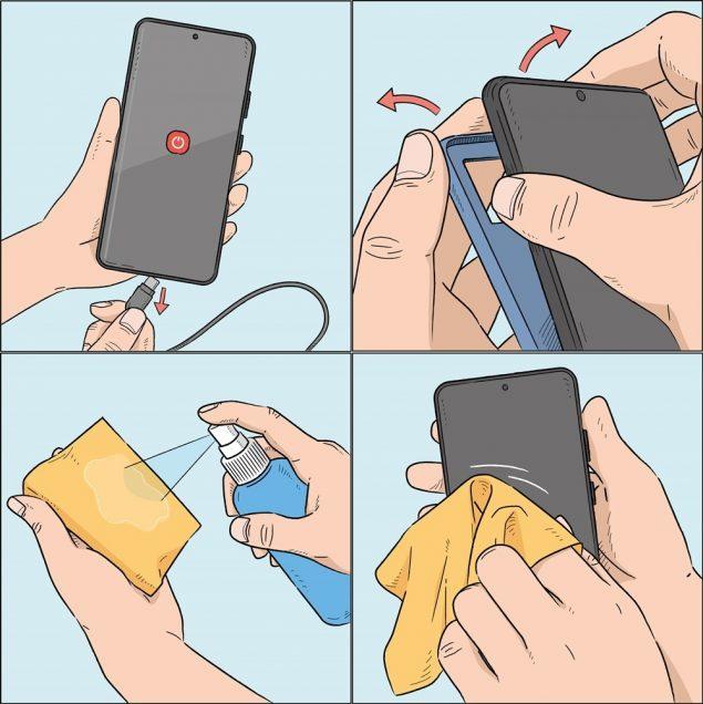 samsung consigli smartphone pulito