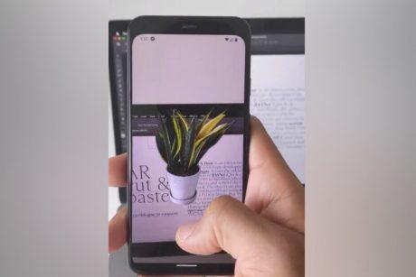 smartphone applicazione fotocamera photoshop