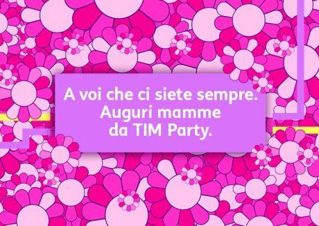 tim party festa della mamma 10 maggio 2020