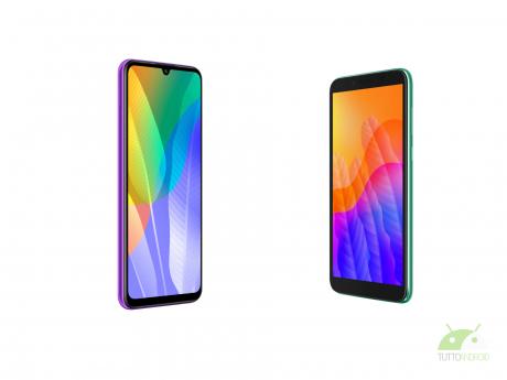 Huawei Y6P e Huawei Y5P