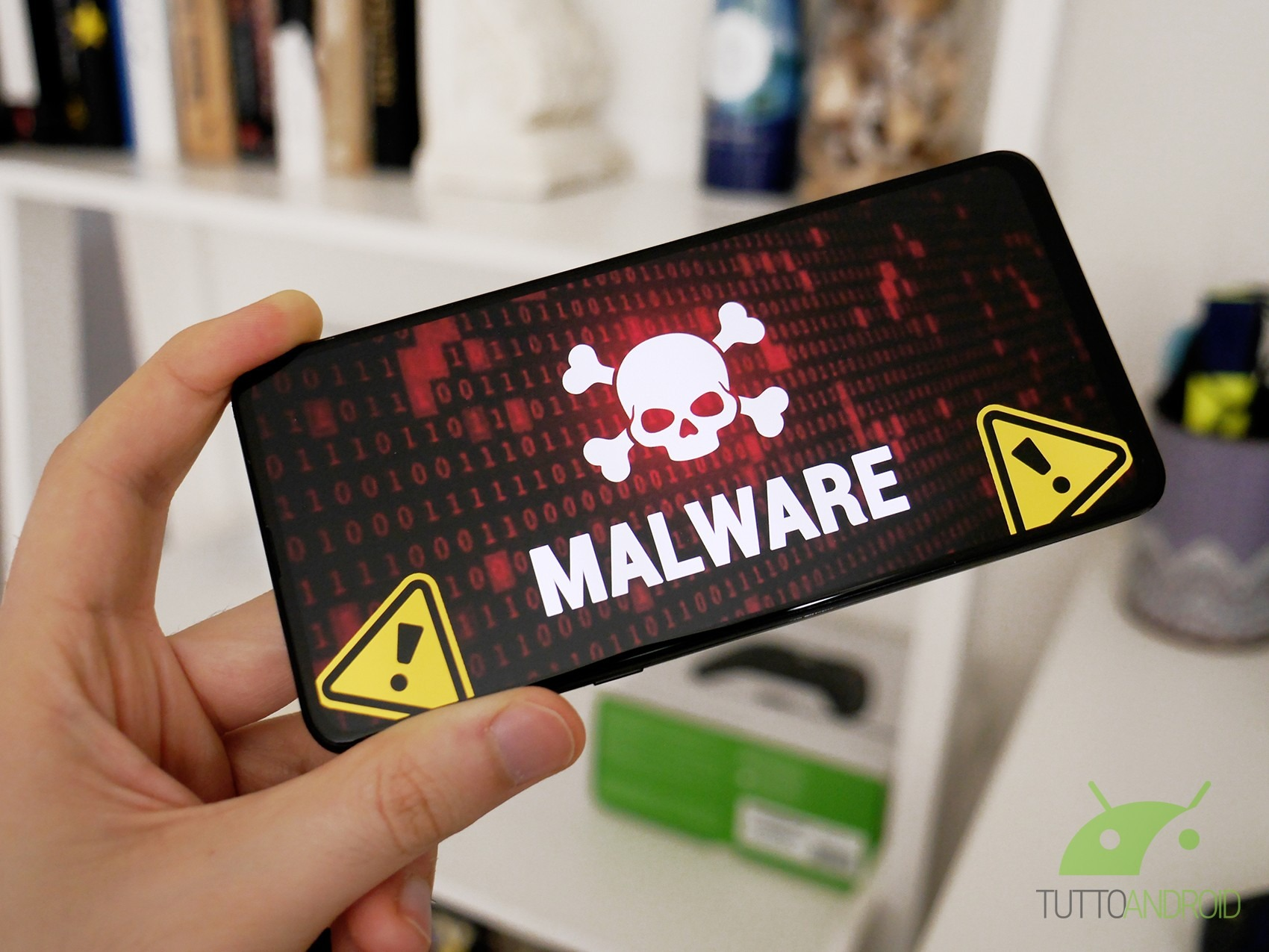 Questo bug di Android permette a malware di rubare password