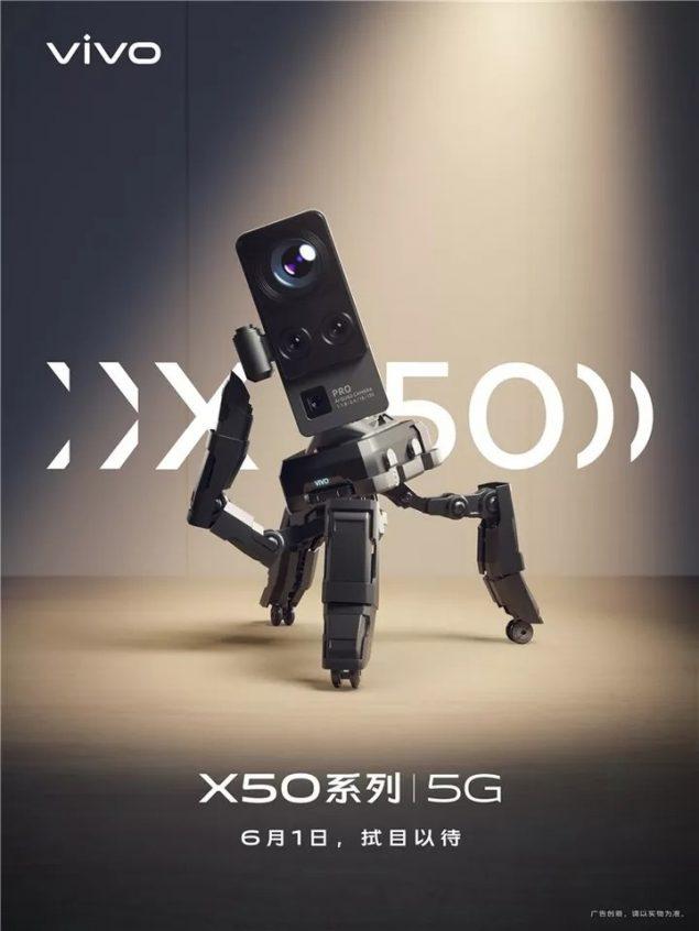 vivo x50 fotocamera teaser