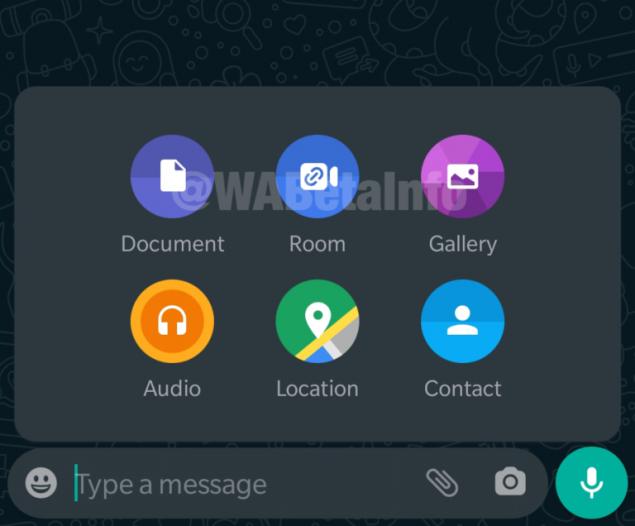 whatsapp beta facebook messenger rooms rollout
