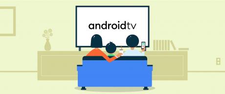 Android TV logo Google