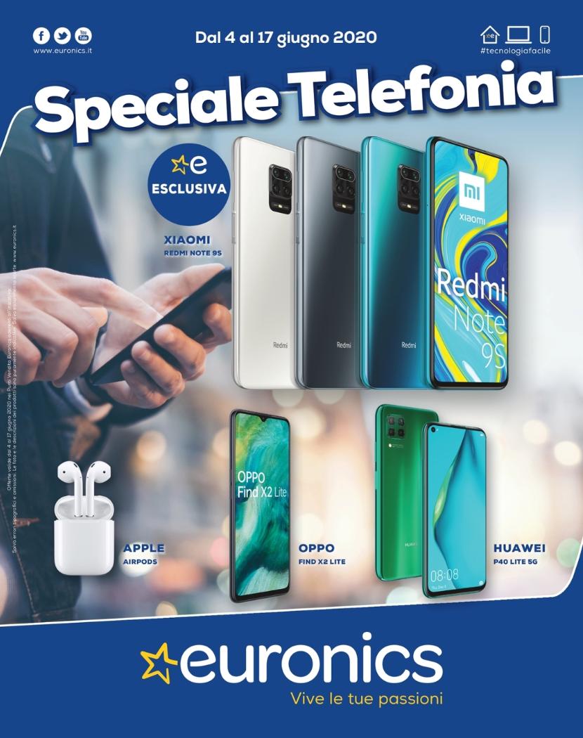Euronics offerte volantino Speciale Telefonia