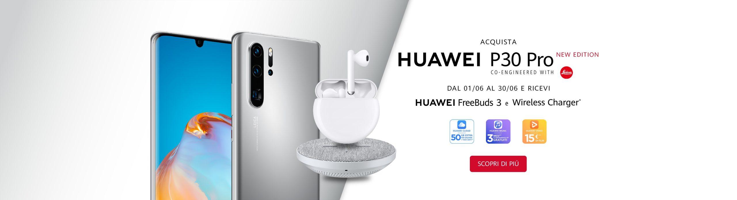 Huawei P30 Pro New Edition promozione