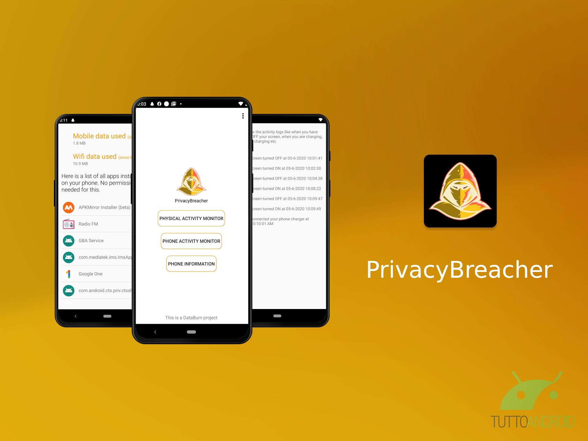 PrivacyBreacher mostra quali app accedono alle informazioni