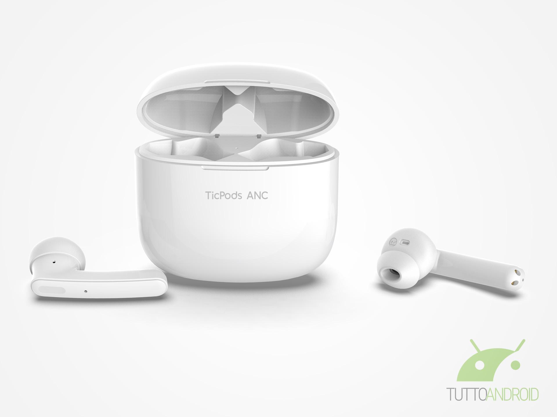Mobvoi lancia le cuffie true wireless TicPods ANC con intell