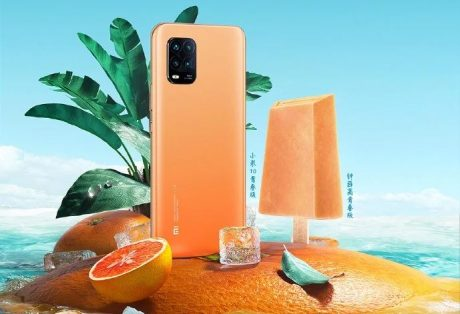 Xiaomi Mi 10 Youth Ice & Snow Set edition
