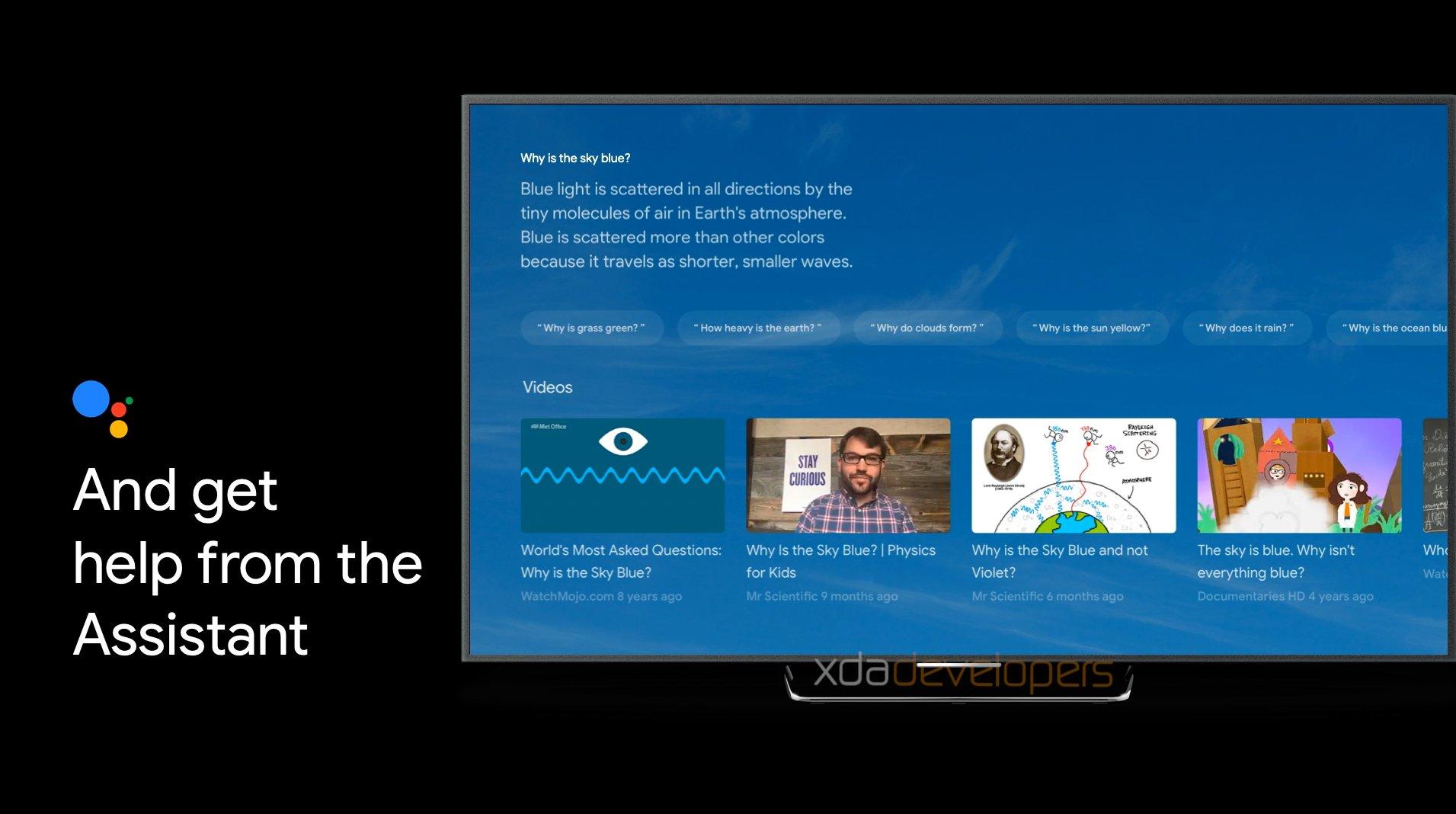 la nuova interfaccia di ricerca basata su Google Assistant