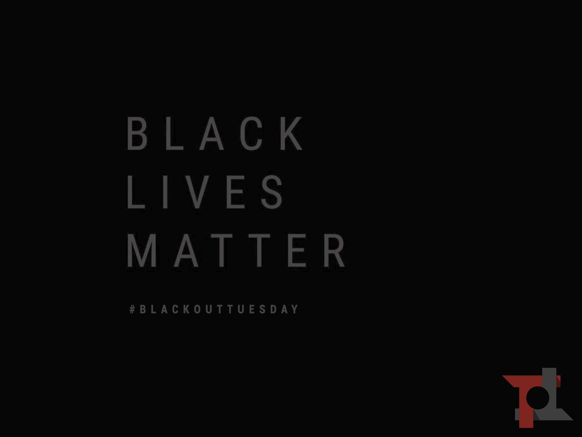 Perché sui social stanno spopolando immagini nere