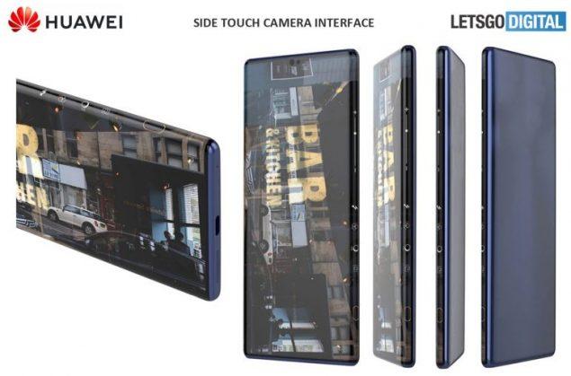 huawei mate 40 interfaccia fotocamera novità samsung smartphone sensori inclinabili brevetto