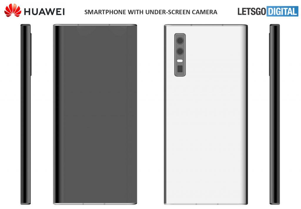 Huawei brevetta nuovi design tutto schermo con fotocamera so