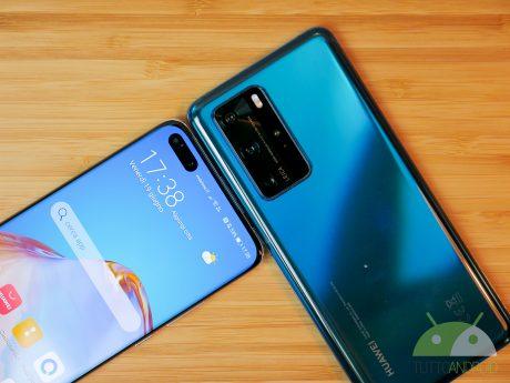 Huawei P40 Pro e 40 Pro Plus
