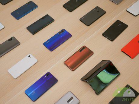 Molti smartphone android 2020