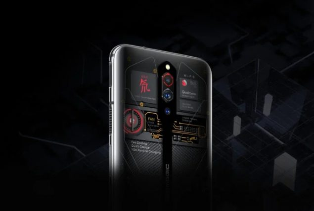 nubia red magic 5g transparent edition ufficiale