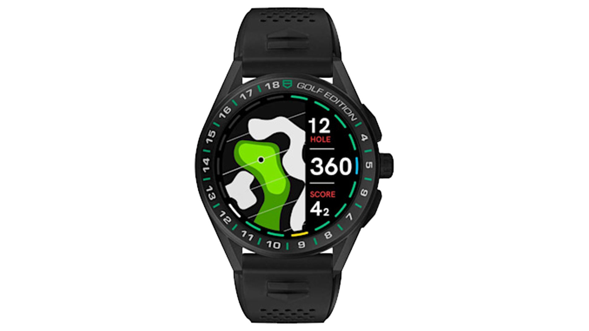 TAG Heuer Gold Edition è lo smartwatch che ogni golfista vor