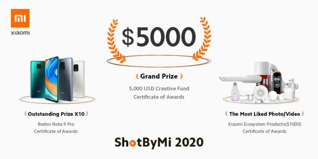 xiaomi shotbymi concorso fotografico 2020