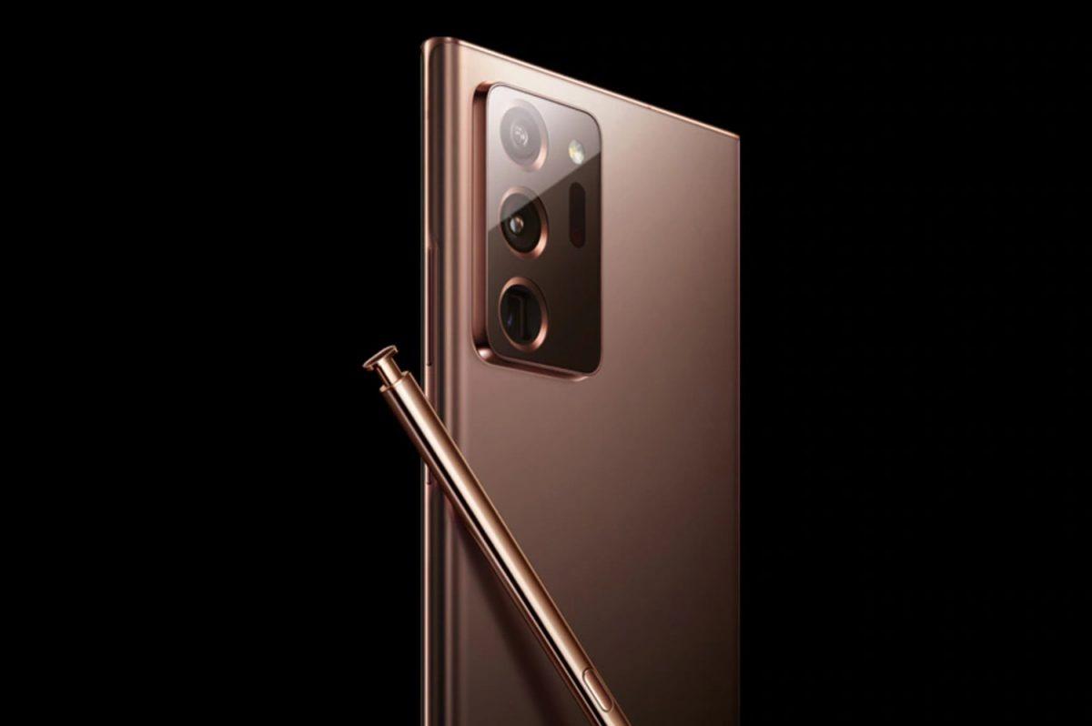 Samsung Galaxy Note 20 Ultra esce allo scoperto con le prime