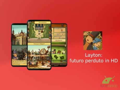 Layton futuro perduto in HD
