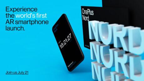 OnePlus Nord lancio in Realtà Aumentata