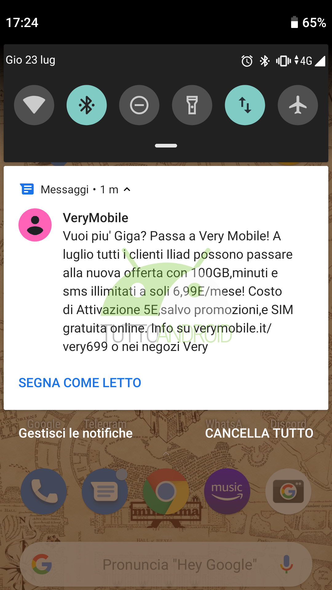 very mobile offerta iliad