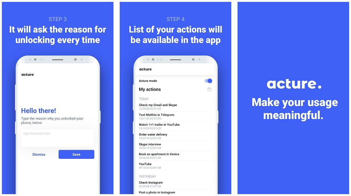 Acture - migliori app Android luglio 2020