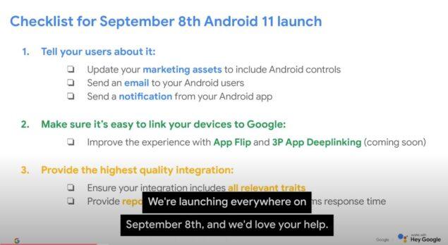 android 11 8 settembre 2020 data lancio