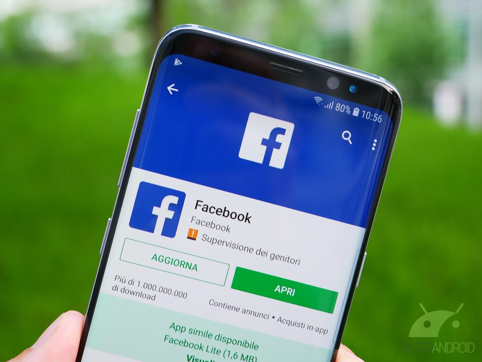 Facebook lancia la sezione notizie nel Regno Unito