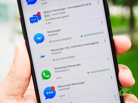 Fb whatsapp social app