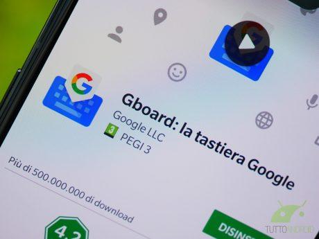 Gboard google tastiera