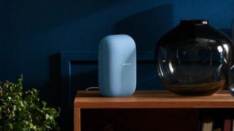 Google nest smart speaker 2020 feat
