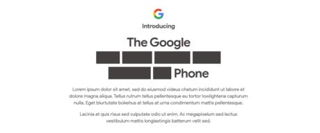 Google pixel 4a easter egg