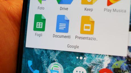 Google presentazioni documenti fogli