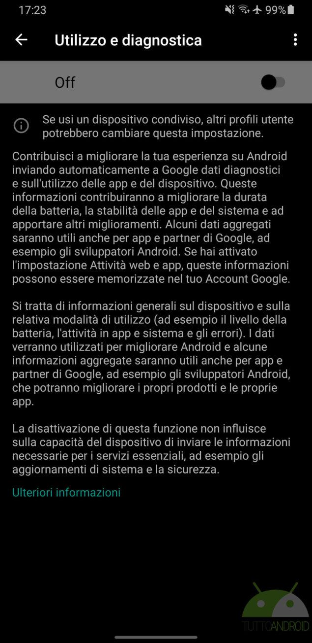 google programma interno informazioni app competitor android